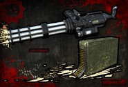 Minigun SS3 concept