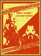 Zombie Soldier Mental's Horde poster