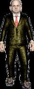Fork Parker gold suit