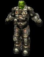 Orc Grunt silver armor