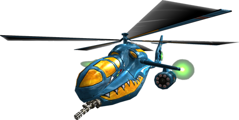 "Infantry ""Kozak aHa-C64"" Attack Helicopter (vehicle)"