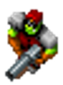 Orc Captain shotgun