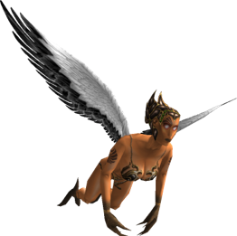 Scythian Witch-Harpy