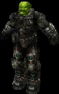 Orc Grunt black armor