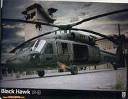 T.E.O.R Black Hawk