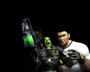 Orc Grunt and Sam