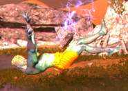 Lightning Man falling