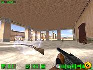 Pump-action shotgun beta