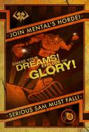 Kamikaze Mental's Horde poster