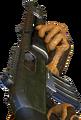 Pump-action shotgun pump