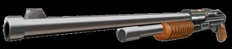 12 Gauge Pump-Action Shotgun