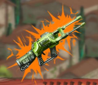 Лазерное ружье XL4 (DD)