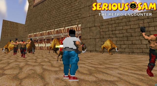 Serious Sam: The Retro Encounter Карты