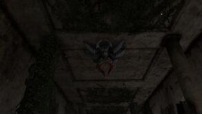 С-паук на потолке