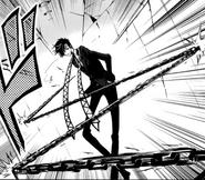 Taishi Touma - Uses His Chain (PNG)