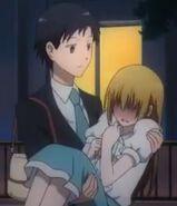 Servant x Service Tanaka carrying Miyoshi