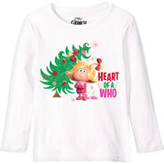 Child Heart of a Who Long - Sleeve Shirt - The Grinch