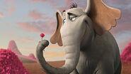 Horton with clover