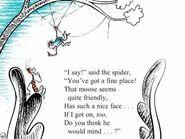 I say said the spider