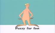 Fuzzy Fur Feet