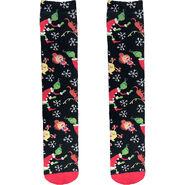 Adult Black Grinch Knee - High Socks