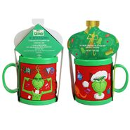 0002232 dr seuss the grinch plastic mug with cocoa gift pack