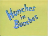 Hunches in Bunches the video book1