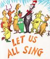 Let us all sing