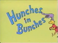 Hunches in Bunches the video book