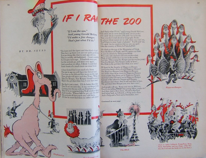 Redbook Version of If I Ran the Zoo