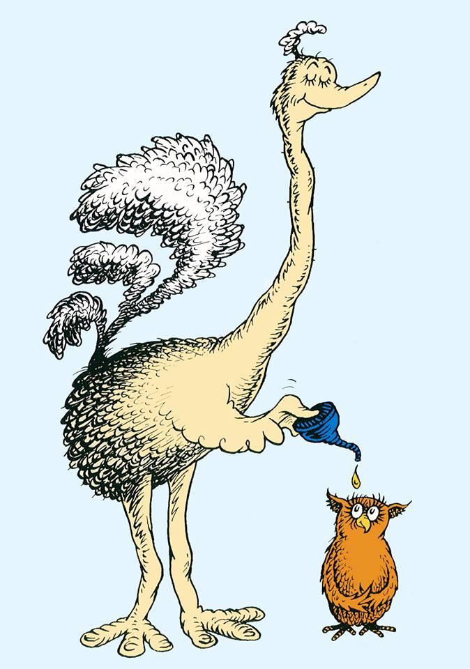 Oscar's Ostrich