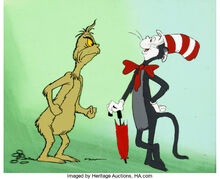 The Grinch Grinches the Cat in the Hat Production Cel Setup (DePatie-Freleng, 1982) 2.jpg
