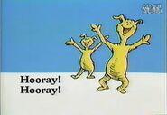 Hooray! Hooray!
