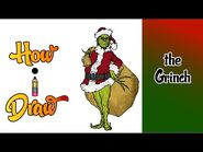 How I Draw the Grinch by Dr Suess