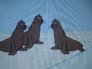 Blubbered Seals