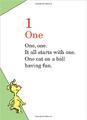 Dr. Seuss's 1 2 3 (4)