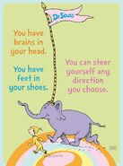 You can steer yourself