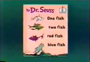 One Fish Two Fish Red Fish Blue Fish (book)