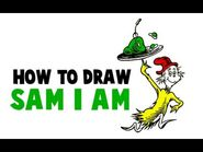 How to Draw Sam I Am from Green Eggs and Ham by Dr