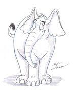 Horton quick pic by Slasher12 on DeviantArt
