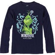 Child Grinch Wonderful Awful Idea Long - Sleeve Shirt