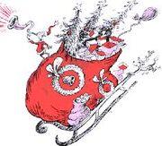 The sleigh returning