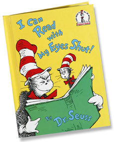 Read I Can Read With My Eyes Shut By Dr Seuss