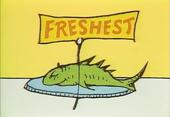 Freshest on plate