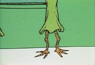The jertain's legs