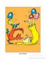 Theodor-dr-seuss-geisel-fox-in-socks-on-orange