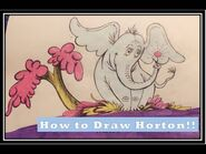 How to Draw Horton✏️--Dr