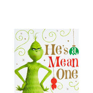Grinch He's a Mean One Beverage Napkins
