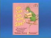Oh say can you Say (book)