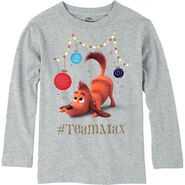Child Team Max Long - Sleeve Shirt - The Grinch